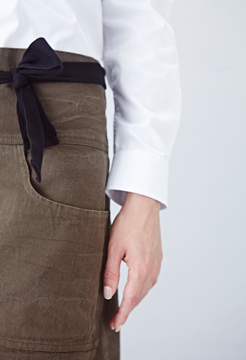 field-grey-female-brown-bespoke-apron-angelica-trinityhouse-danddlondon