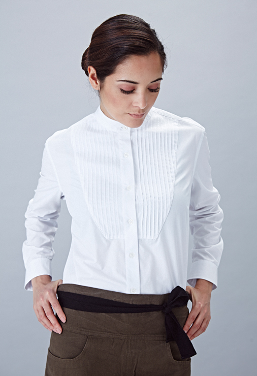 field-grey-female-white-bib-shirt-angelica-trinityhouse-danddlondon