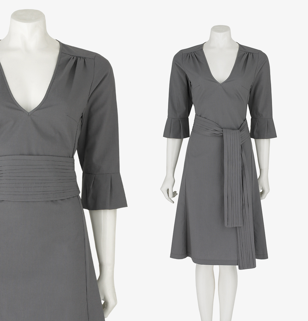 field-grey-female-uniform-cotton-belted-dress-nudeskincare