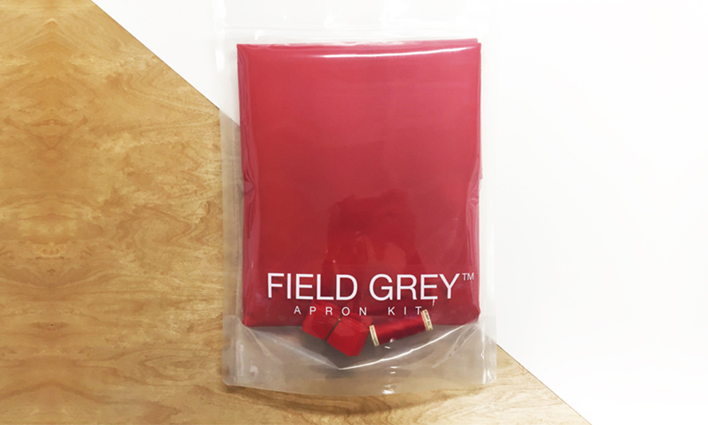 FIELD GREY <br>Apron Kit