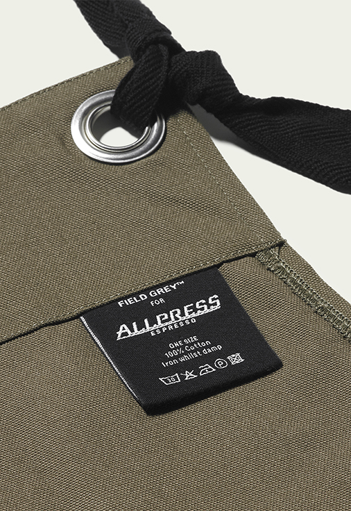 Field Grey Allpress Uniform Design Apron