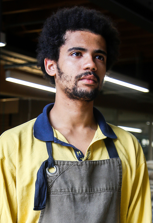 Allpress Dalston Uniform Design Aprons Field Grey