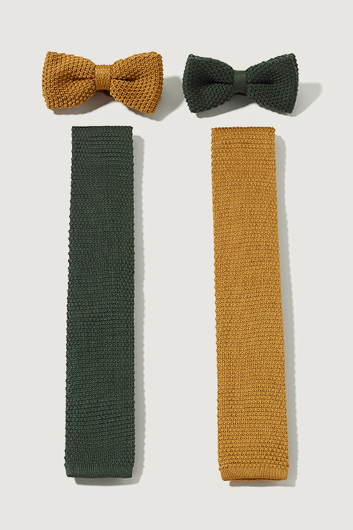 Field Grey Uniform Design Skylon Bow Tie Ties