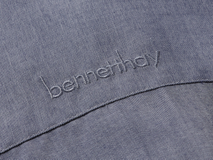 Bennett Hay Field Grey Embroidery