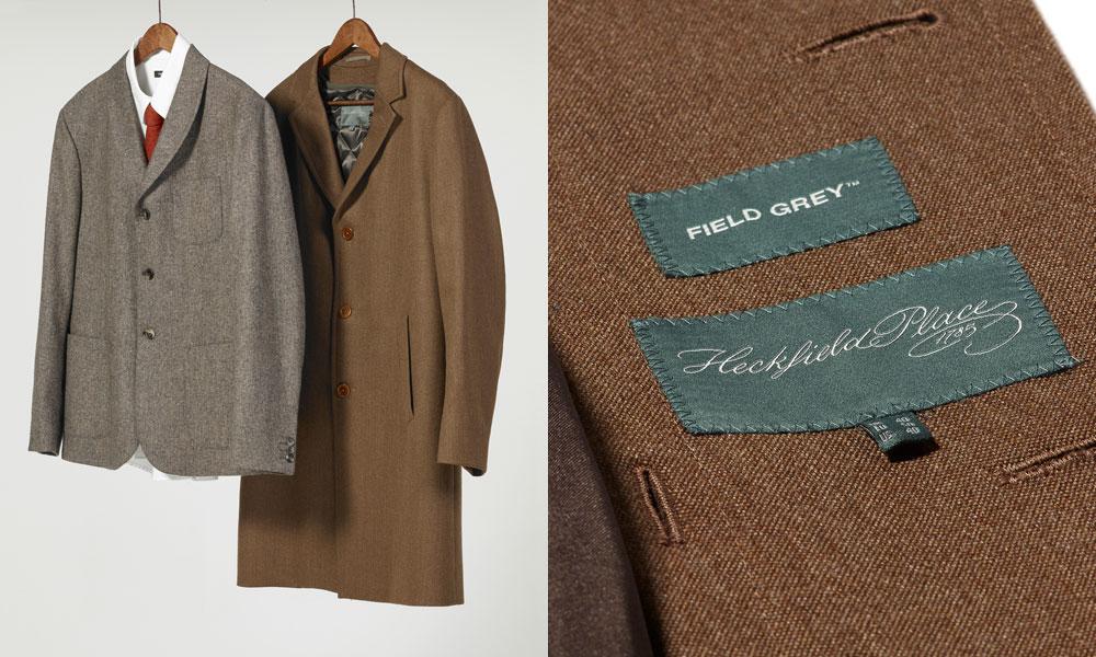 Heckfield Place Field Grey Uniform Design